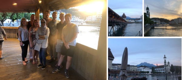 Pictures of Remap team in Lucerne